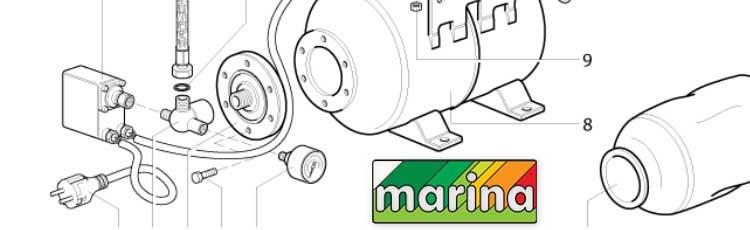 Деталировки Marina/Speroni